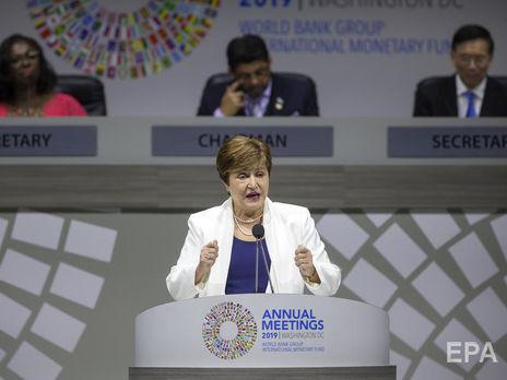 Георгиева: Вторая глобальная волна коронавируса может привести к дальнейшим сбоям в экономической деятельности