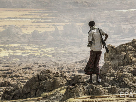 Долина Афар одне з найспекотніших місць на Землі