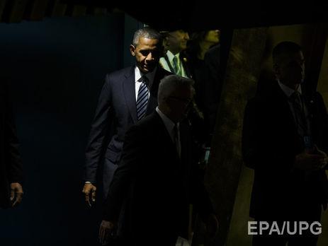 Обама упрекнул Российскую Федерацию втом, что она достигает славы силой