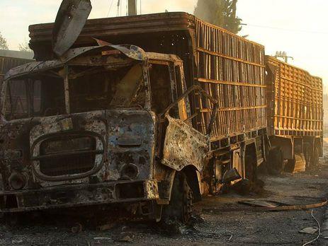 Удар погуманитарному конвою ООН вСирии нанесли русские самолеты— США