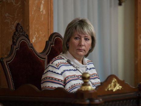 Данишевская утверждает, что зарплата судей снизилась в два семь раз