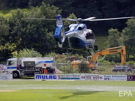 Рауша искали с помощью вертолетов