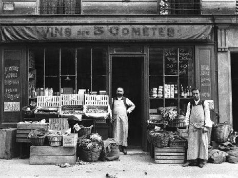 Русский магазин в Париже. 1930-е годы