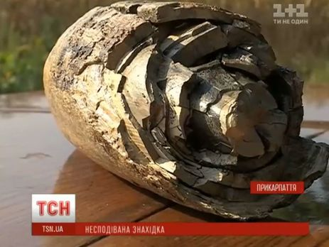 Найден бивень мамонта вИвано-Франковской области