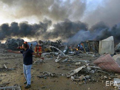 Потужний вибух у порту Бейрута стався увечері 4 серпня