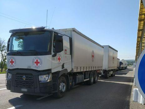 Общий вес гуманитарной помощи превышает 49 тонн