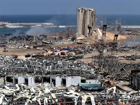 Взрыв на складе аммиачной селитры привёл к катастрофическим последствиям