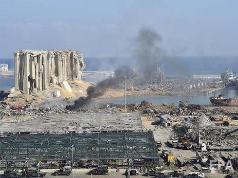 Взрыв в Бейруте по мощности - как 10% ядерной бомбы, сброшенной на ...