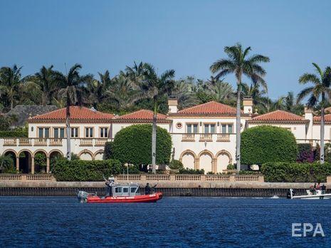 Поліція Флориди патрулює резиденцію Мар-а-Лаго президента Трампа