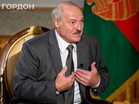Лукашенко: Мы дали [американцам] цветущую, прекрасную, добрую нашу Украину, откуда сегодня можем получить в любой момент залп ракеты