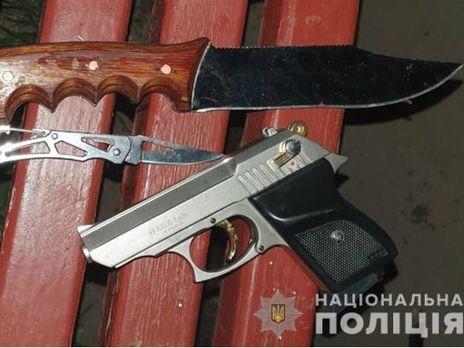 Оружие у мужчины изъяли
