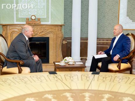 Интервью Лукашенко Гордону вышло в эфир 6 августа
