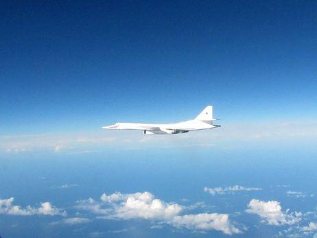 Английские истребители поднялись наперехват русских Ту-160 рядом сВеликобританией