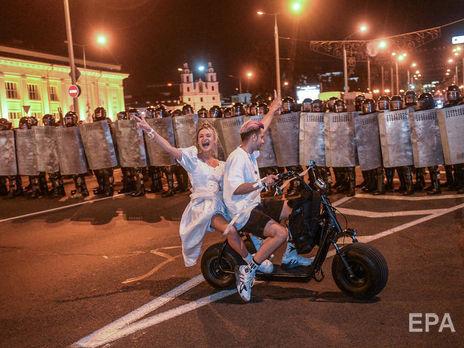 НАТО обеспокоено насилием силовиков над демонстрантами
