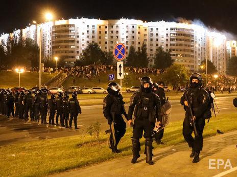 Между силовиками и протестующими были стычки