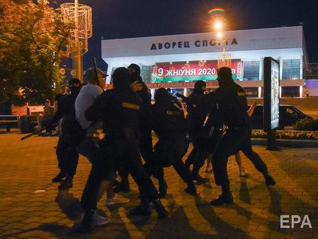 США рішуче засуджують насильство над демонстрантами в Білорусі