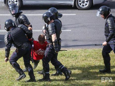 Протесты в Беларуси начались в день выборов 9 августа
