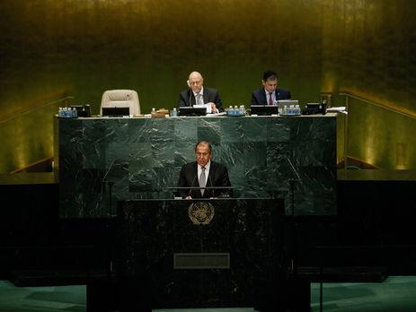 Лавров назвал государство Украину «жертвой приверженцев игр снулевым результатом»