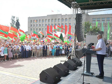 Тихановская высказалась орезерве русских  силовиков для отправки в Беларусь