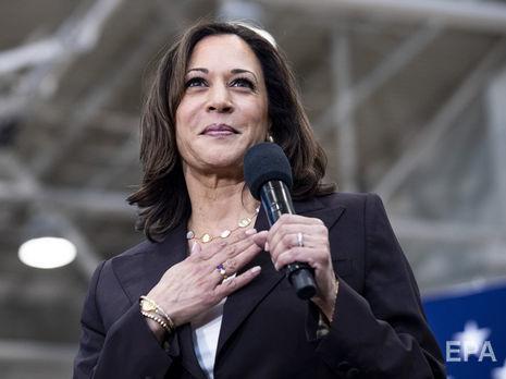 Харрис может стать первой темнокожей женщиной на посту вице-президента США