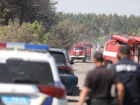 Пожар на территории Двуречанского лесничества охватил территорию в 400 га