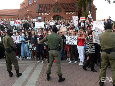 Массовые митинги продолжаются в Беларуси с 9 августа