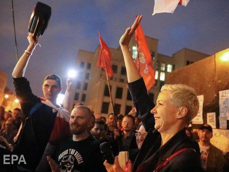 В Госпогранкомитете Беларуси заявили, что Колесникову сегодня задержали