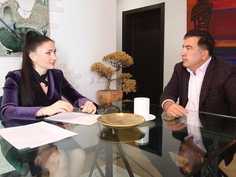 В интервью Бацман Саакашвили прокомментировал планы вернуться в Грузию
