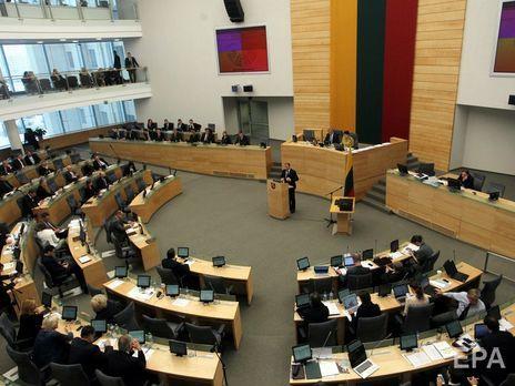 Литва закликає ввести санкції проти Лукашенка та Росії за спроби обмежити суверенітет Білорусі