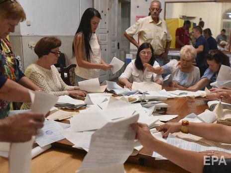 Местные выборы назначены на 25 октября на всех территориях Украины, кроме временно оккупированных