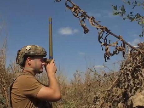 Во время режима тишины украинские бойцы регулярно фиксируют провокации со стороны боевиков