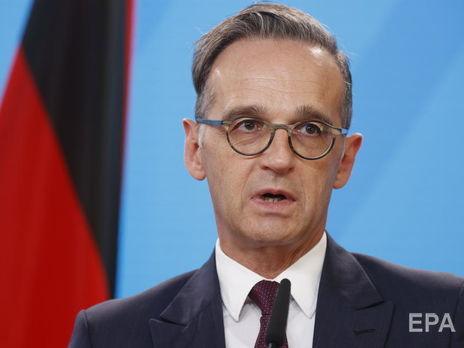 Маас заявил о планах расширить санкции на большее число белорусов