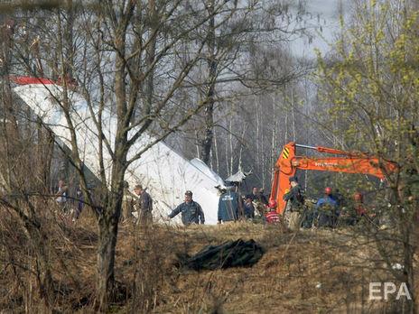 Самолет Ту-154, в котором находились президент Польши Лех Качиньский с супругой и 86 членами правительственной делегации, разбился под Смоленском 10 апреля 2010 года