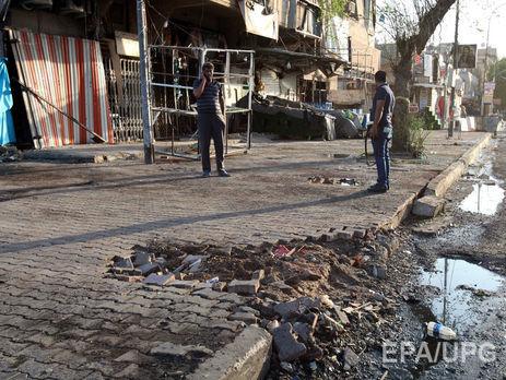 Тройной теракт вБагдаде забрал жизни 17 человек