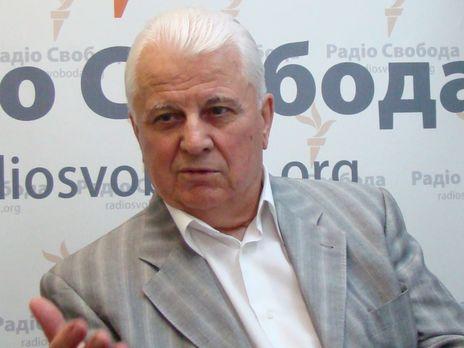 Кравчук: Вопрос обмена пленными уже заблокирован