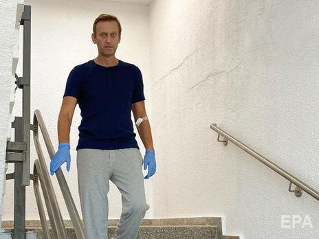 Спустя месяц после отравления Навальный начал самостоятельно передвигаться