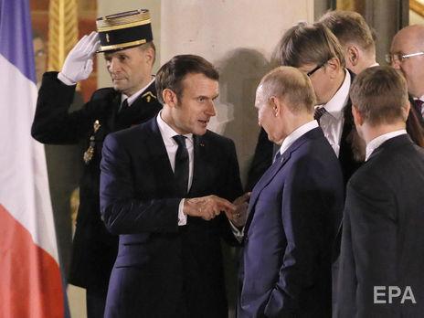 """По данным СМИ, Путин в беседе с Макроном назвал Навального """"баламутом"""""""
