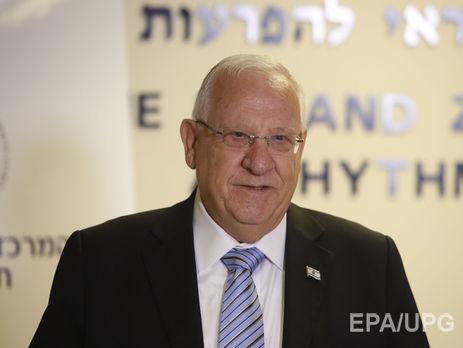 НаБанковой торжественно встретили президента Израиля