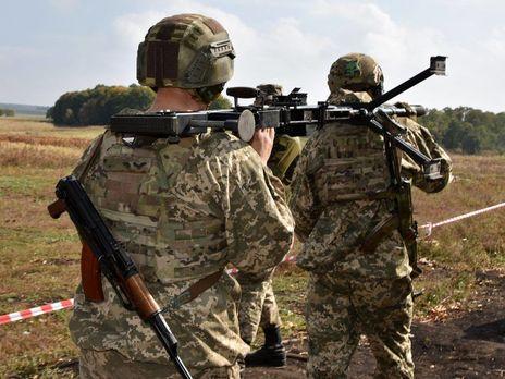 Украинские военные не стали открывать по боевикам ответный огонь