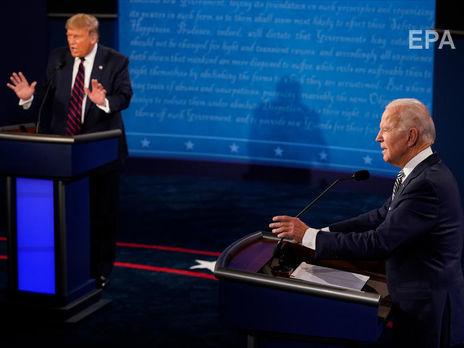 Трамп и Байден провели первые дебаты