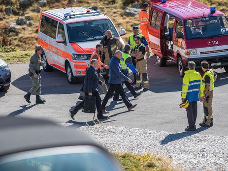 Вертолет ВВС Швейцарии разбился уперевала Сен-Готард