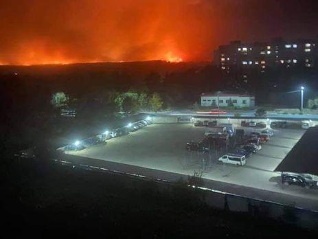 Новые пожары в Луганской области начались 30 сентября