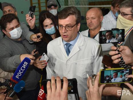 Мураховский рассказывал прессе, что Навальный страдает нарушением обмена веществ