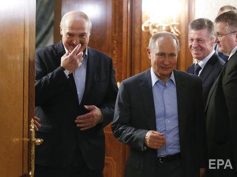 Путін і Лукашенко обговорили реалізацію домовленостей, досягнутих під час їхньої зустрічі в Сочі