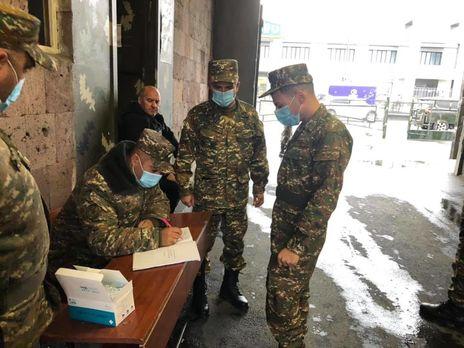Ашот Пашинян: Шановні товариші по службі, настала наша черга служити батьківщині