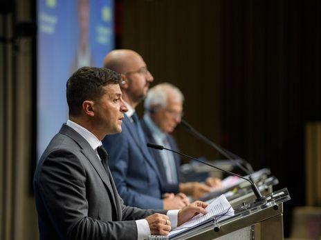 Зеленский: Украина переросла действующее Соглашение об ассоциации и стремится к её обновлению