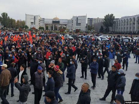 Через протести в Бішкеку сьогодні ввели надзвичайний стан