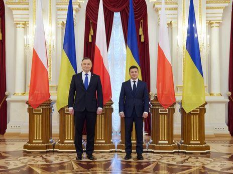 Зеленский и Дуда провели переговоры в Киеве