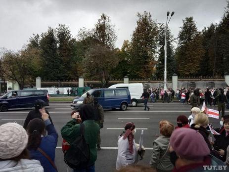 """Протестующие кричали """"фашисты"""""""
