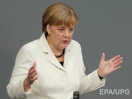 Путин побеседовал сМеркель потелефону